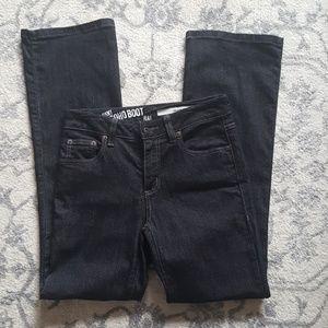 DKNY SOHO BOOT jeans size 6 short 6S Black new